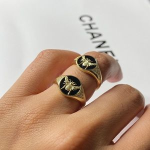 Bumble Bee Stainless Steel Ring